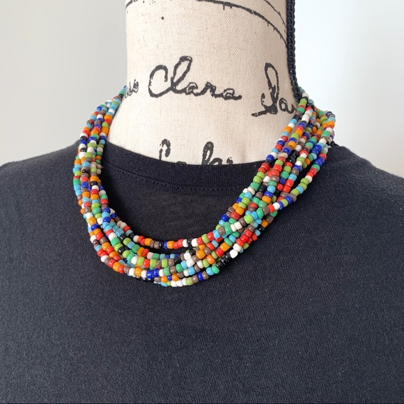 Accessories - Colorful beaded Necklace